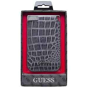 Housse Guess croco gris universelle iPhone 5, 5S, 5C, SE