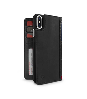 Coque Twelve South BookBook iPhone X noir black