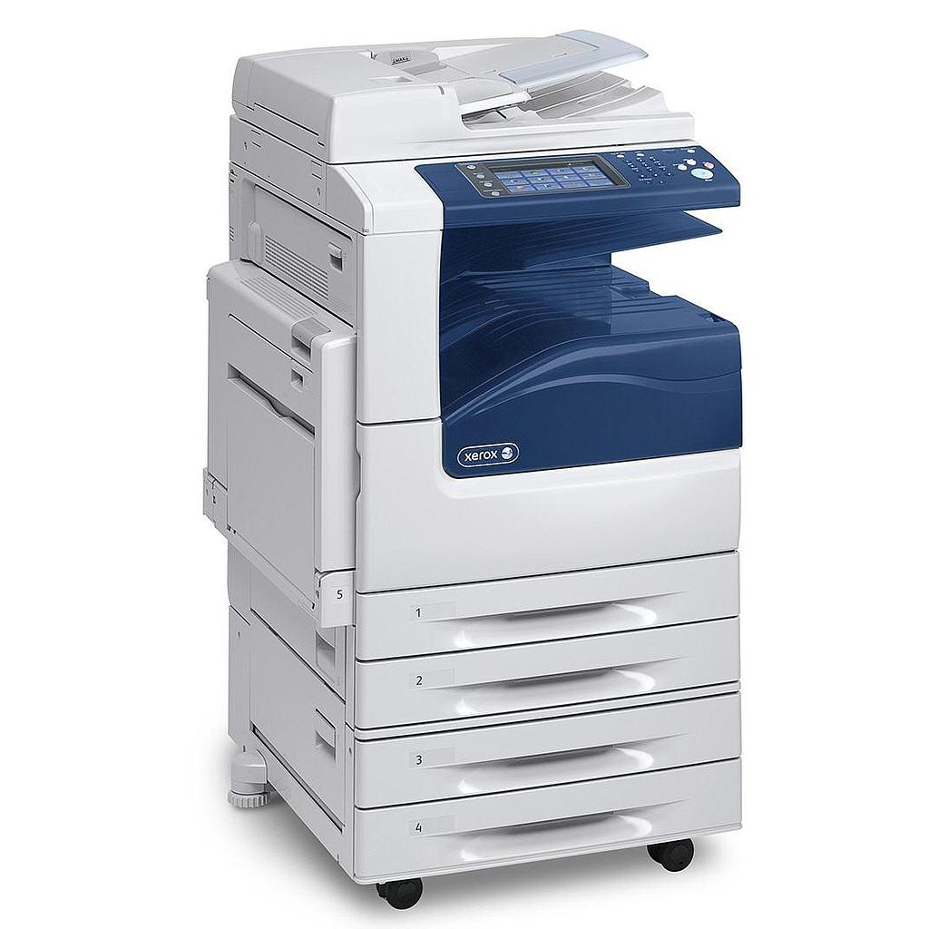 Copieur Xerox WorkCentre 7225 A3 couleur, 25 ppm, Scan to Email, 4 x 520-Sheet Paper Trays & stand, DADF - valeur neuf = 5000€ HTVA