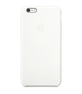 Apple iPhone 6 Plus coque/étui en silicone case white