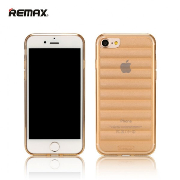 Coque iPhone 7 Remax Wave TPU couleur rose